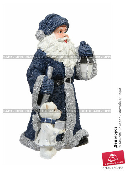 Купить «Дед мороз», фото № 80436, снято 10 августа 2007 г. (c) Максим Соколов / Фотобанк Лори