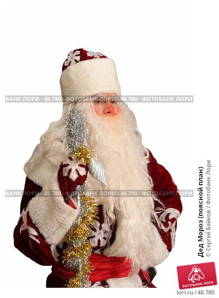 Купить «Дед Мороз (поясной план)», фото № 48780, снято 23 октября 2005 г. (c) Сергей Байков / Фотобанк Лори