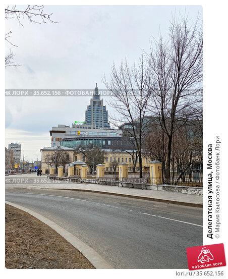 Делегатская улица, Москва. Редакционное фото, фотограф Мария Кылосова / Фотобанк Лори
