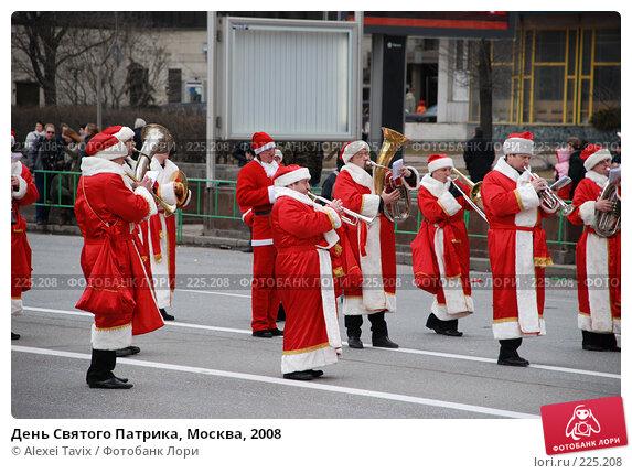 День Святого Патрика, Москва, 2008, эксклюзивное фото № 225208, снято 16 марта 2008 г. (c) Alexei Tavix / Фотобанк Лори
