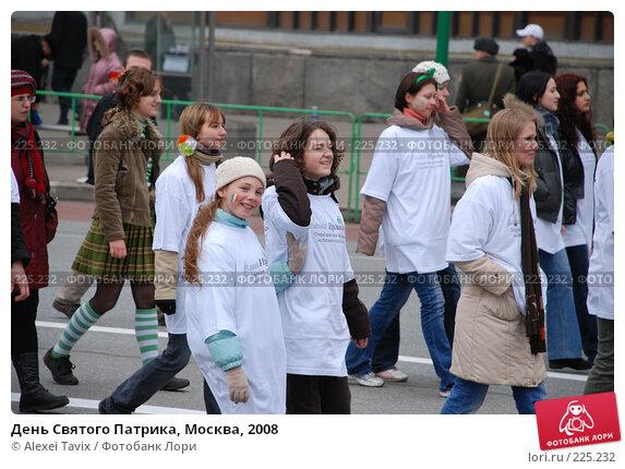 День Святого Патрика, Москва, 2008, эксклюзивное фото № 225232, снято 16 марта 2008 г. (c) Alexei Tavix / Фотобанк Лори