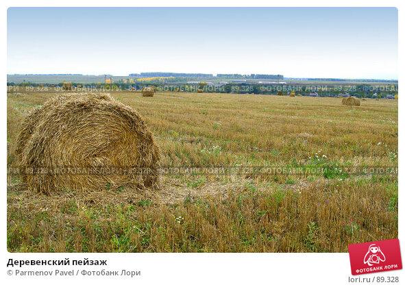 Деревенский пейзаж, фото № 89328, снято 22 сентября 2007 г. (c) Parmenov Pavel / Фотобанк Лори
