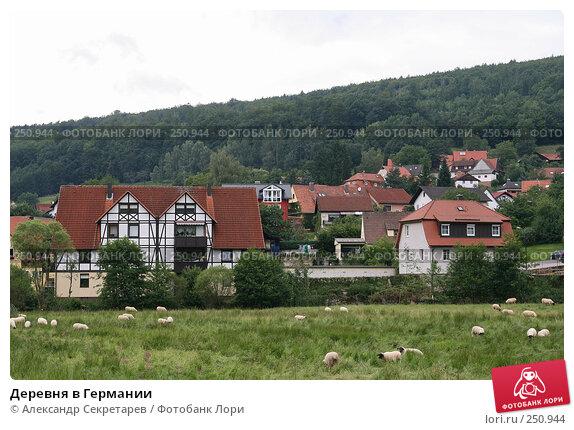Купить «Деревня в Германии», фото № 250944, снято 12 июля 2007 г. (c) Александр Секретарев / Фотобанк Лори