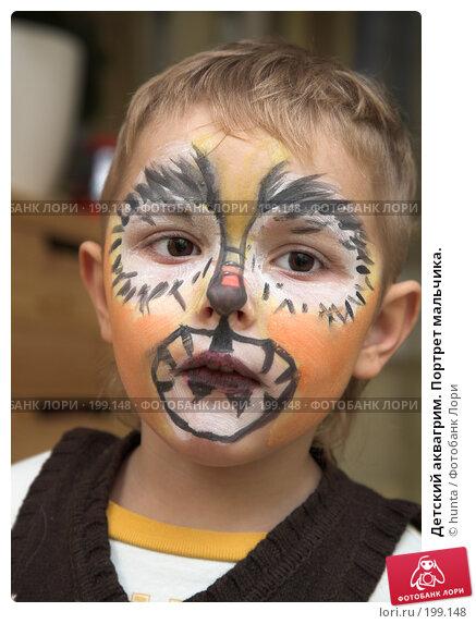 Детский аквагрим. Портрет мальчика., фото № 199148, снято 1 января 2008 г. (c) hunta / Фотобанк Лори