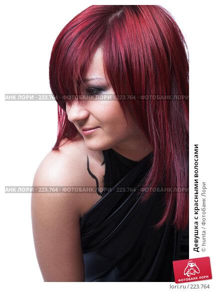 Купить «Девушка с красными волосами», фото № 223764, снято 7 июля 2007 г. (c) hunta / Фотобанк Лори