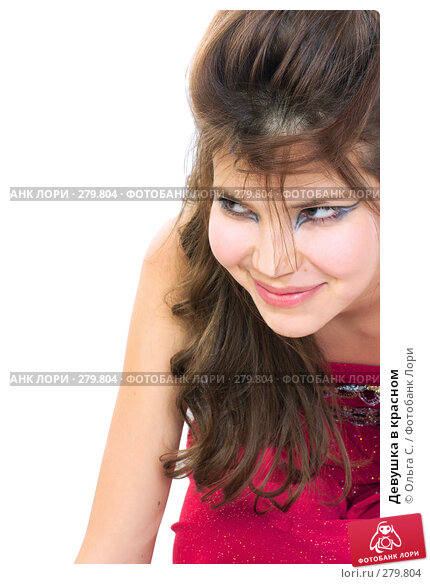 Девушка в красном, фото № 279804, снято 10 января 2007 г. (c) Ольга С. / Фотобанк Лори