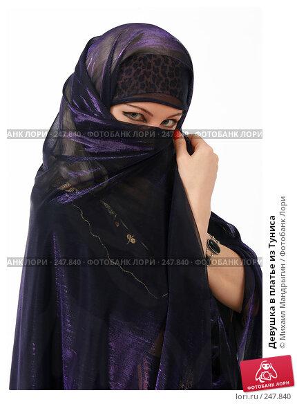 Девушка в платье из Туниса, фото № 247840, снято 8 апреля 2008 г. (c) Михаил Мандрыгин / Фотобанк Лори