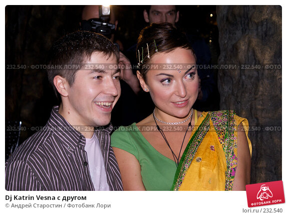 Dj Katrin Vesna с другом, фото № 232540, снято 19 марта 2008 г. (c) Андрей Старостин / Фотобанк Лори