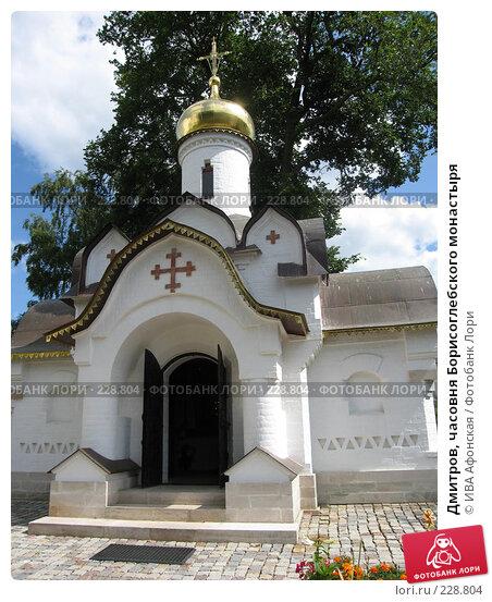 Дмитров, часовня Борисоглебского монастыря, фото № 228804, снято 3 августа 2006 г. (c) ИВА Афонская / Фотобанк Лори