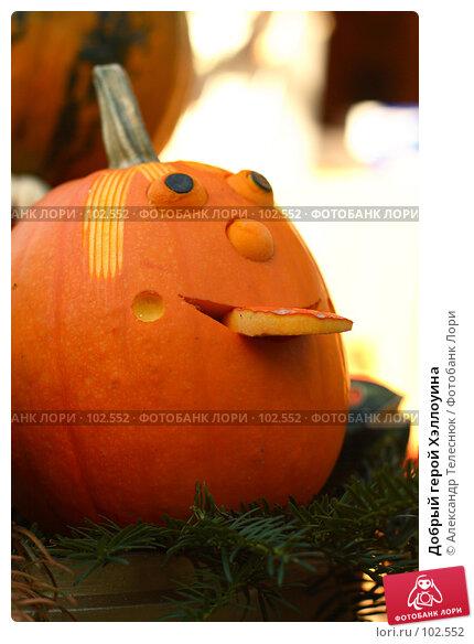 Добрый герой Хэллоуина, фото № 102552, снято 22 октября 2016 г. (c) Александр Телеснюк / Фотобанк Лори