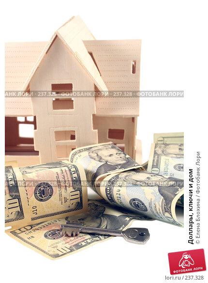 Доллары, ключи и дом, фото № 237328, снято 30 марта 2008 г. (c) Елена Блохина / Фотобанк Лори