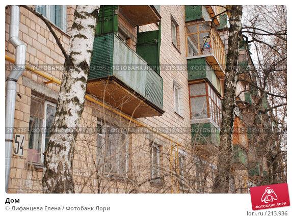 Дом, фото № 213936, снято 2 марта 2008 г. (c) Лифанцева Елена / Фотобанк Лори