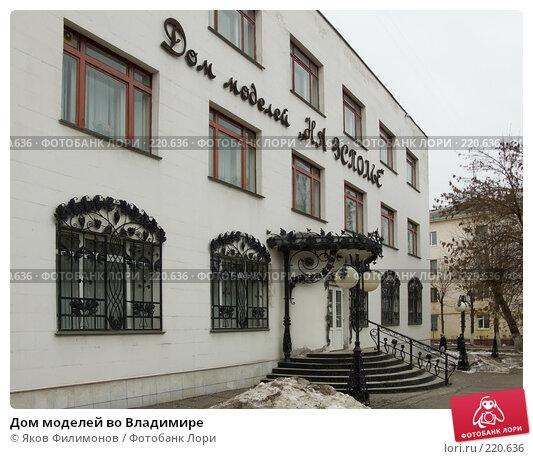 Дом моделей во Владимире, фото № 220636, снято 9 марта 2008 г. (c) Яков Филимонов / Фотобанк Лори