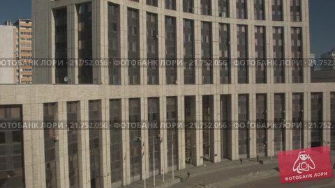Купить «Дома на проспекте Сахарова. RAW», видеоролик № 21752056, снято 14 ноября 2019 г. (c) kinocopter / Фотобанк Лори