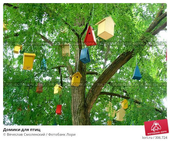 Домики для птиц, фото № 306724, снято 4 июля 2004 г. (c) Вячеслав Смоленский / Фотобанк Лори