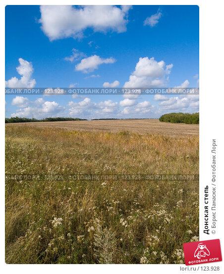 Донская степь, фото № 123928, снято 11 сентября 2006 г. (c) Борис Панасюк / Фотобанк Лори