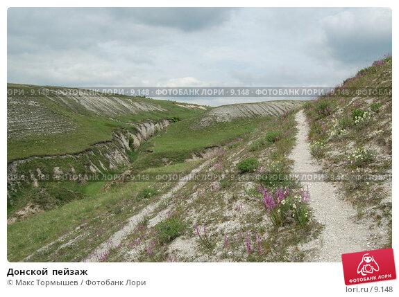 Донской  пейзаж, фото № 9148, снято 26 мая 2006 г. (c) Макс Тормышев / Фотобанк Лори