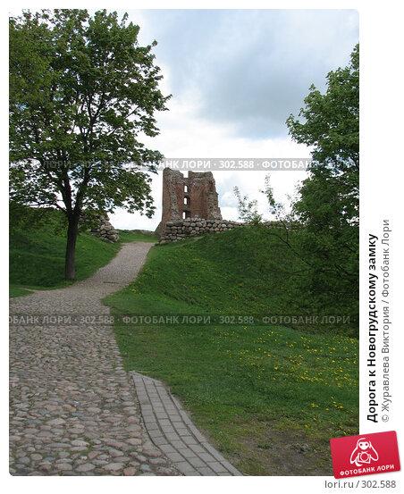 Дорога к Новогрудскому замку, фото № 302588, снято 20 ноября 2007 г. (c) Журавлева Виктория / Фотобанк Лори