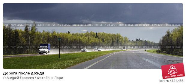 Дорога после дождя, фото № 121456, снято 13 мая 2007 г. (c) Андрей Ерофеев / Фотобанк Лори