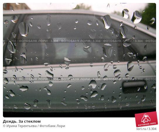Дождь. За стеклом, эксклюзивное фото № 3304, снято 5 июля 2004 г. (c) Ирина Терентьева / Фотобанк Лори