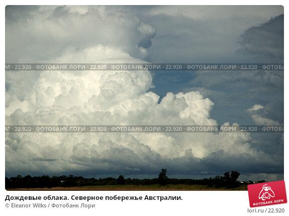 Купить «Дождевые облака. Северное побережье Австралии.», фото № 22920, снято 6 апреля 2007 г. (c) Eleanor Wilks / Фотобанк Лори