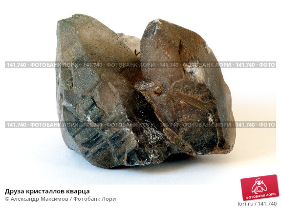 Друза кристаллов кварца, фото № 141740, снято 23 марта 2006 г. (c) Александр Максимов / Фотобанк Лори