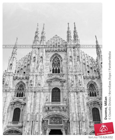 Duomo, Milan. Стоковое фото, фотограф Claudio Divizia / PantherMedia / Фотобанк Лори