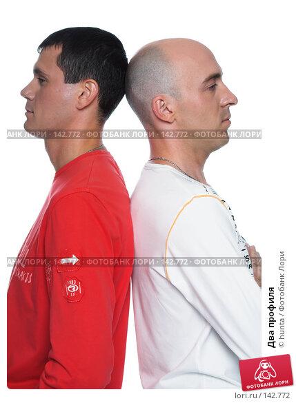 Два профиля, фото № 142772, снято 21 августа 2007 г. (c) hunta / Фотобанк Лори