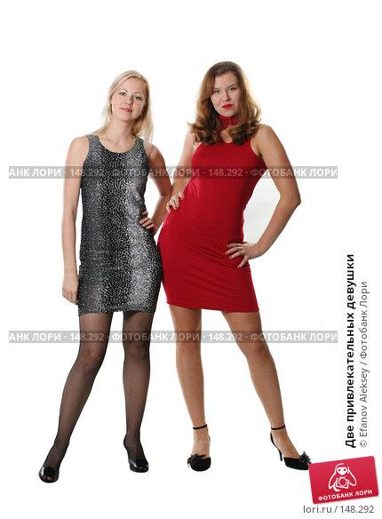 Две привлекательных девушки, фото № 148292, снято 1 декабря 2007 г. (c) Efanov Aleksey / Фотобанк Лори