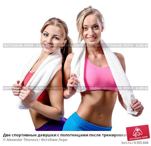 Две спортивные телки