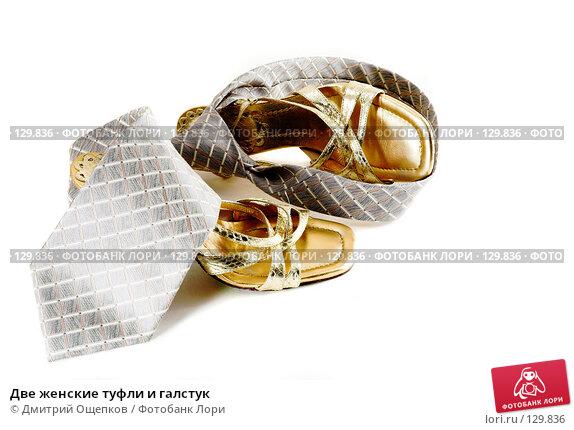 Две женские туфли и галстук, фото № 129836, снято 22 ноября 2006 г. (c) Дмитрий Ощепков / Фотобанк Лори