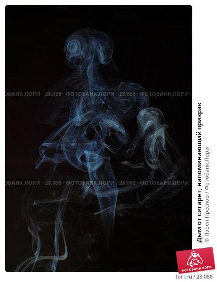 Купить «Дым от сигарет, напоминающий призрак», фото № 28088, снято 17 января 2007 г. (c) Павел Преснов / Фотобанк Лори