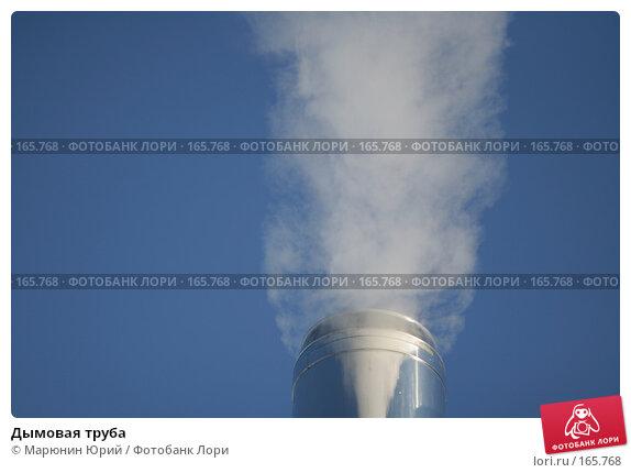 Купить «Дымовая труба», фото № 165768, снято 27 декабря 2007 г. (c) Марюнин Юрий / Фотобанк Лори