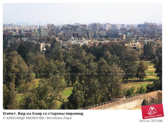 Купить «Египет. Вид на Каир со стороны пирамид», фото № 237936, снято 25 февраля 2008 г. (c) АЛЕКСАНДР МИХЕИЧЕВ / Фотобанк Лори
