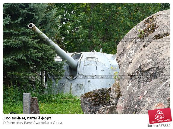 Купить «Эхо войны, пятый форт», фото № 87532, снято 7 сентября 2007 г. (c) Parmenov Pavel / Фотобанк Лори