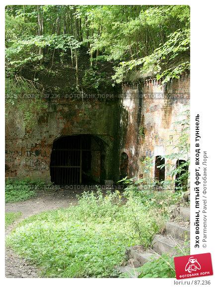Эхо войны, пятый форт, вход в туннель, фото № 87236, снято 7 сентября 2007 г. (c) Parmenov Pavel / Фотобанк Лори