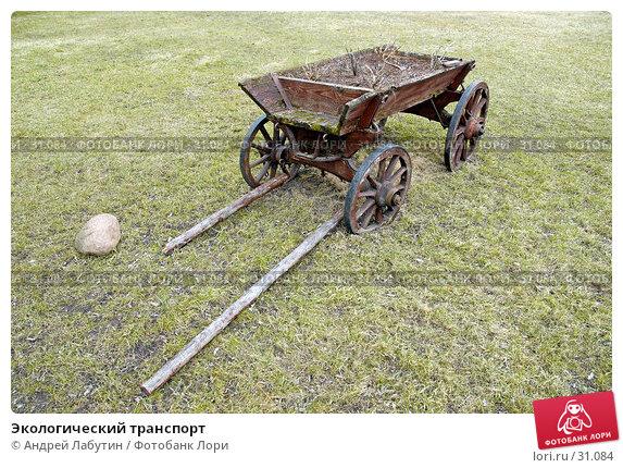Экологический транспорт, фото № 31084, снято 6 апреля 2007 г. (c) Андрей Лабутин / Фотобанк Лори