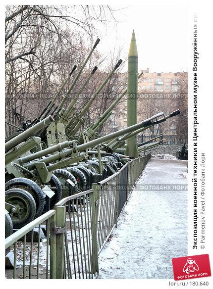 Экспозиция военной техники в Центральном музее Вооружённых сил в Москве, фото № 180640, снято 6 января 2008 г. (c) Parmenov Pavel / Фотобанк Лори