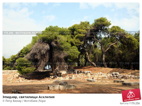 Купить «Эпидавр, святилище Асклепия», фото № 179256, снято 8 октября 2007 г. (c) Петр Бюнау / Фотобанк Лори