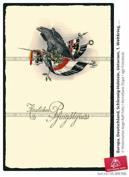 Europa, Deutschland, Schleswig-Holstein, Uetersen, 1. Weltkrieg, ... Редакционное фото, фотограф Historisches Auge Ralf Feltz / age Fotostock / Фотобанк Лори