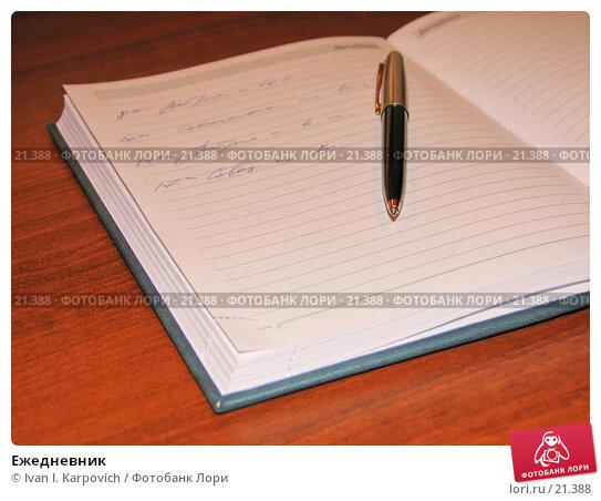 Ежедневник, фото № 21388, снято 29 ноября 2006 г. (c) Ivan I. Karpovich / Фотобанк Лори
