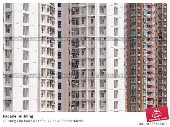 Купить «Facade building», фото № 27898644, снято 20 мая 2019 г. (c) PantherMedia / Фотобанк Лори