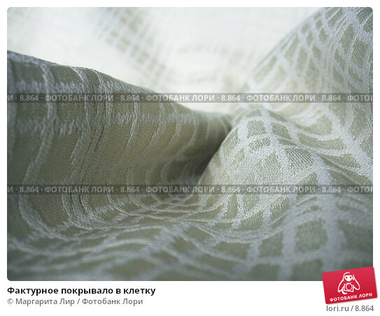 Фактурное покрывало в клетку, фото № 8864, снято 3 сентября 2006 г. (c) Маргарита Лир / Фотобанк Лори