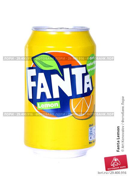 Купить «Fanta Lemon», фото № 29400916, снято 7 ноября 2018 г. (c) Art Konovalov / Фотобанк Лори