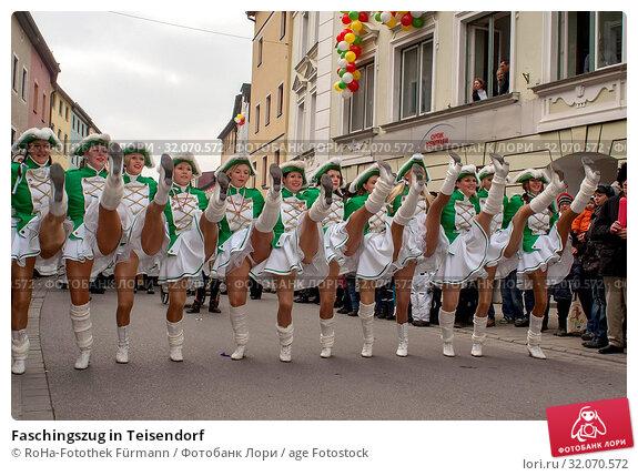 Faschingszug in Teisendorf. Стоковое фото, фотограф RoHa-Fotothek Fürmann / age Fotostock / Фотобанк Лори