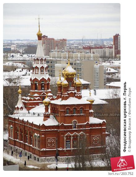 Феодосиевская церковь г. Пермь, фото № 203752, снято 13 февраля 2008 г. (c) Владимир Власов / Фотобанк Лори