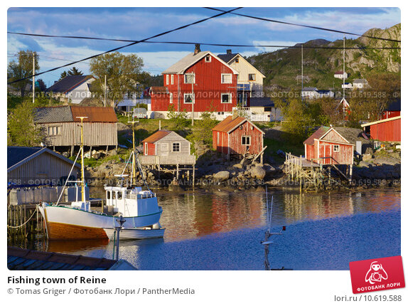 Fishing town of Reine. Стоковое фото, фотограф Tomas Griger / PantherMedia / Фотобанк Лори