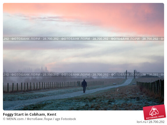 Купить «Foggy Start in Cobham, Kent Featuring: Atmosphere Where: Cobham, United Kingdom When: 28 Dec 2016 Credit: WENN.com», фото № 28700292, снято 28 декабря 2016 г. (c) age Fotostock / Фотобанк Лори