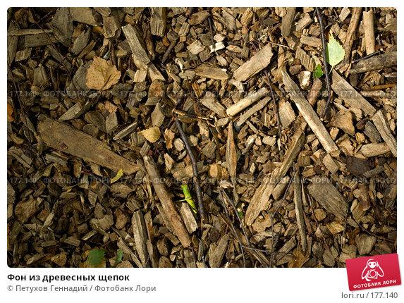 Фон из древесных щепок, фото № 177140, снято 8 июля 2007 г. (c) Петухов Геннадий / Фотобанк Лори