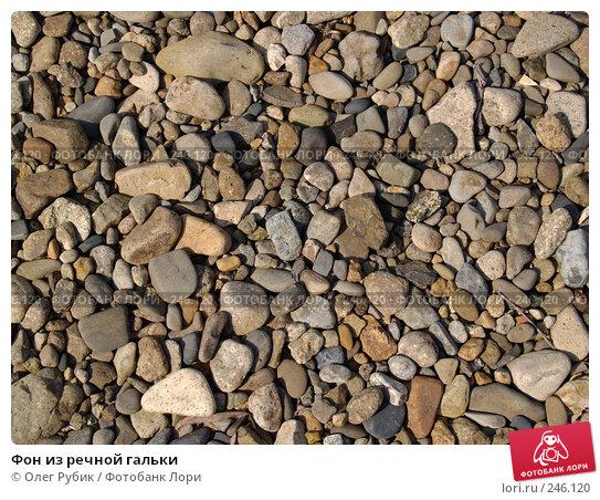 Фон из речной гальки, фото № 246120, снято 8 апреля 2008 г. (c) Олег Рубик / Фотобанк Лори